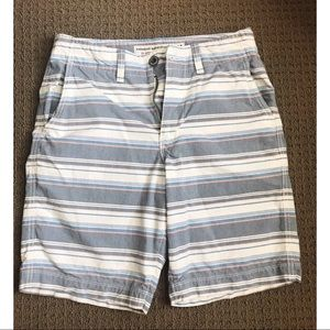 AEO Pastel Striped Shorts